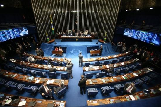Senado restringe acesso da população ao plenário após protestos